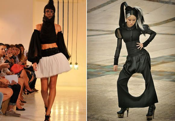 Moda gótica para un público diferente