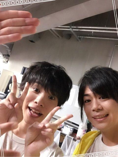 Kiramune boys in Fan Meeting Sendai event 2015-07-19, posted on Daisuke Namikawa blog