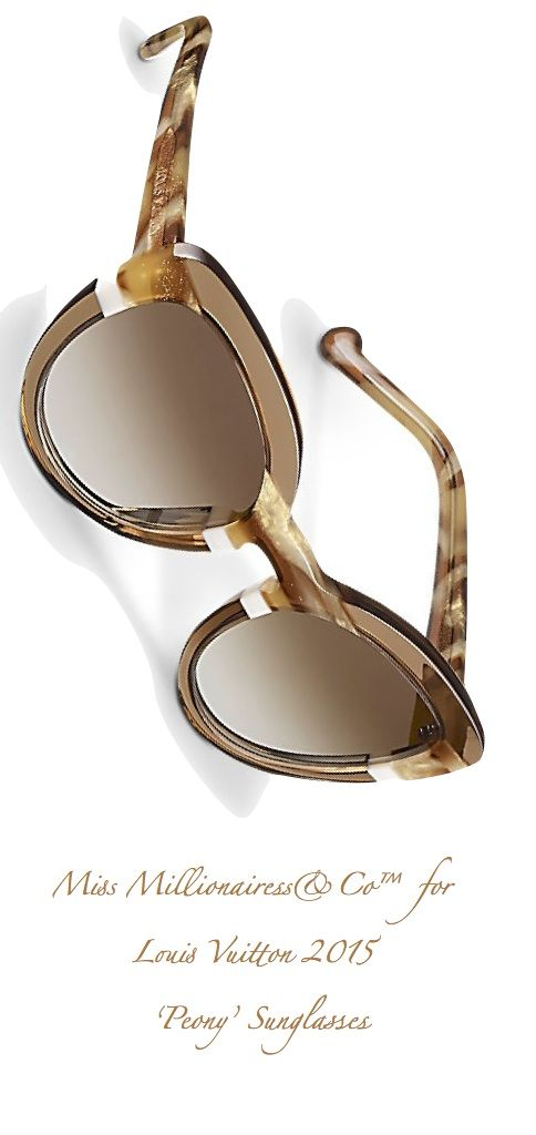 Louis Vuitton 2015 'Peony' Sunglasses