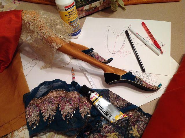 Кукольная мастерская ANNADAN: Сегодня отсняли весь блок по обуви, выкройкам и декорированию.