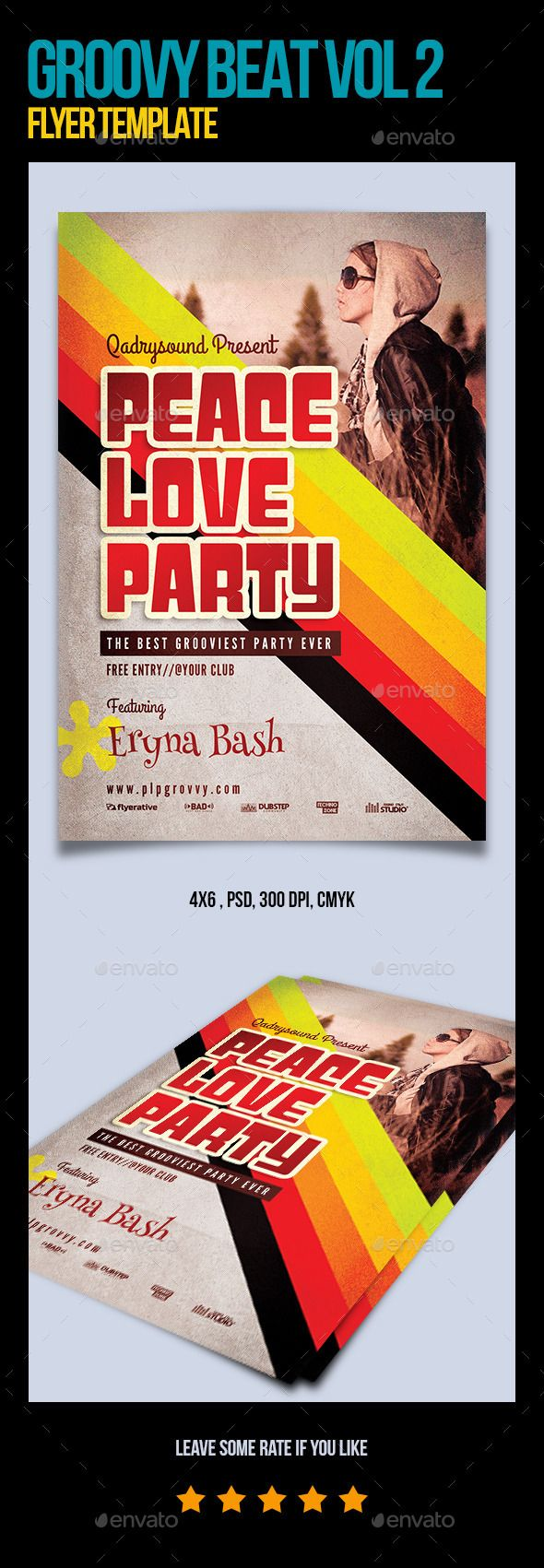 Best Typography Flyer Template Images On   Flyer