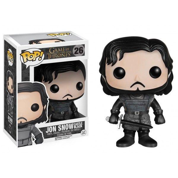 Boneco Jon Snow Castle Black - Game of Thrones - Funko Pop! - Loja Geek Wish, aqui você realiza todos os seus desejos!