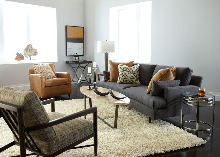 Small formal living room apollo sofa ethan allan home for Living room ideas ethan allen
