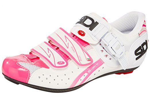 Sidi Genius 5 Fit Carbon Fahrradschuhe Women white/pink fluo Größe 38 2016 Mountainbike-Schuhe