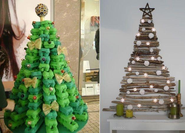Enfeites de natal e ideias criativas SEM GASTAR muito!: