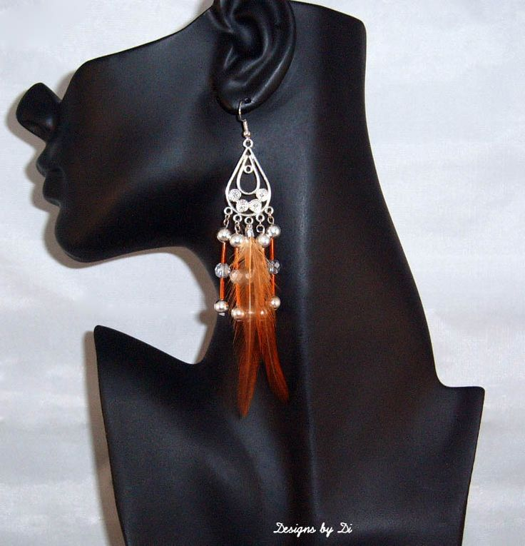 Earrings that go with the Silver Fringe Necklace