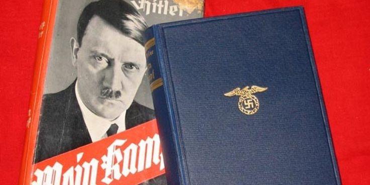 """Documentaire entier en fin d'article. Le 1er janvier 2016, près de soixante et onze ans après la mort d'Adolf Hitler, Mein Kampf tombera dans le domaine public. Dictée en prison à la suite du putsch manqué de 1923, le """"texte fondateur"""" du nazisme, à la..."""