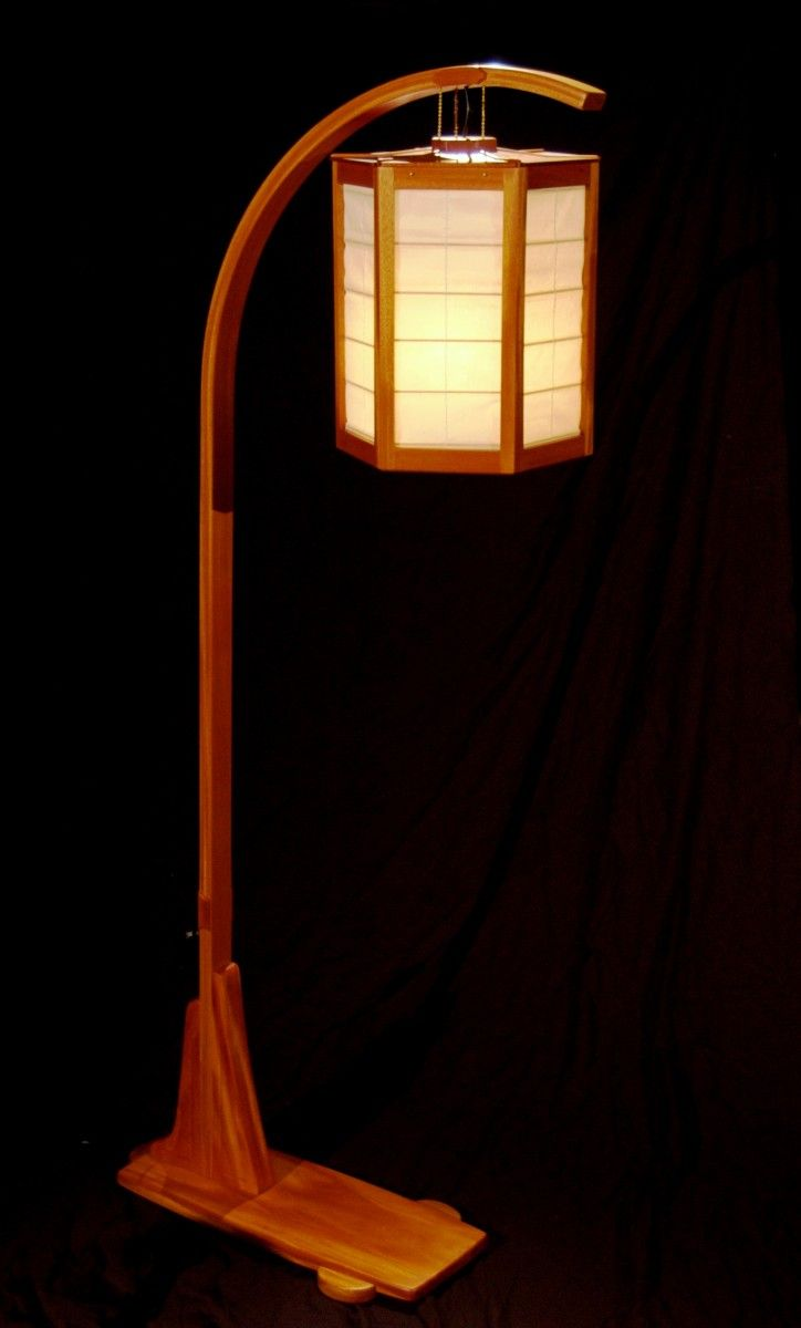 74 Best Japanese Style Lamps Etc Images On Pinterest Wooden Lamp Wood Lamps And Woodworking