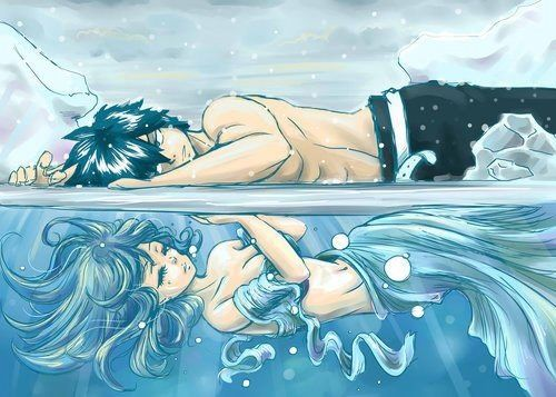 Gray Fullbuster X Juvia Lockser - Fairy Tail