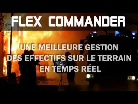 FLEX COMMANDER - Station de commandement Sans fil et Portative Visionnement et enregistrement en temps réel  https://www.flexlite.ca/