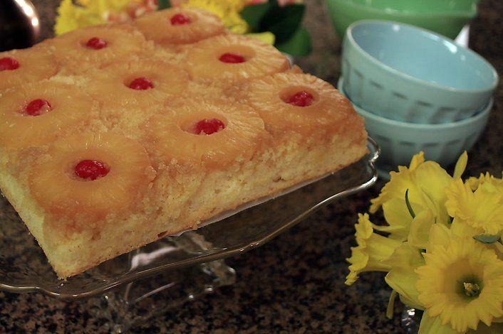 Trisha Yearwood S Pineapple Upside Down Cake