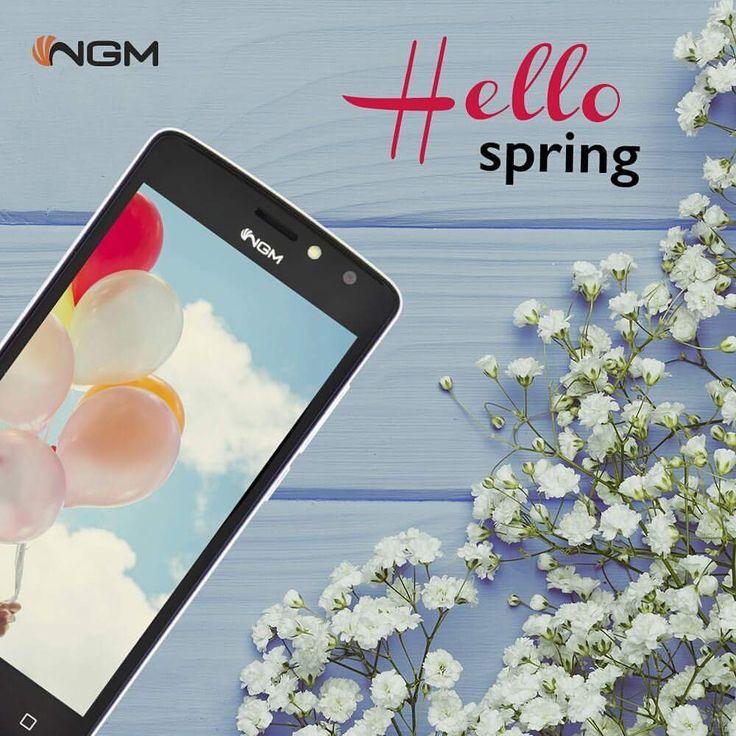 Finalmente è arrivata la #primavera! #HappySpring da #NGM 🌻