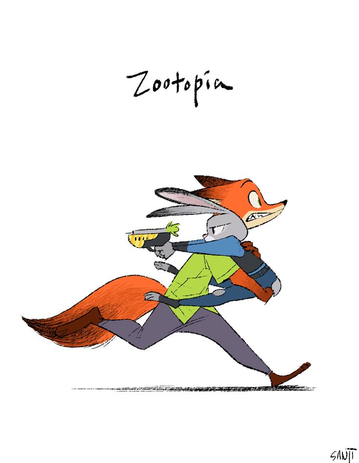 SANJI SEO, Zootopia, Nick and Judy