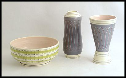 Freeforms -- Poole Pottery