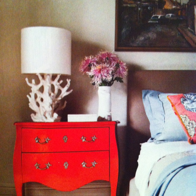 20 Best Red Cream And Deep Espresso Bedroom Images On