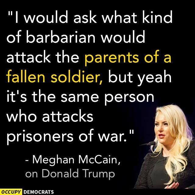 Megan McCain on He Who Shall Not Be Named.