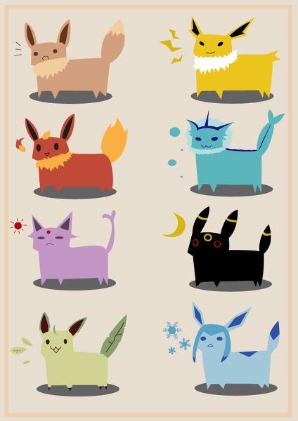 Eevee's Evolution!!!