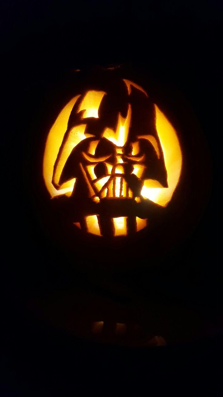 Best darth vader pumpkin ideas on pinterest