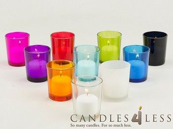 Wholesale Votive Candles : Bulk 72 Holders 72 Votive Candles