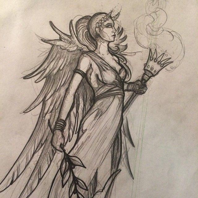 Goddess Nike Goddess Tattoo Greek Goddess Tattoo Nike Tattoo