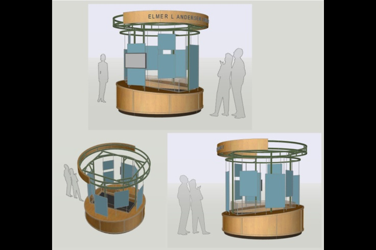 62 best outdoor recreation images on pinterest outdoor for Exterior kiosk design