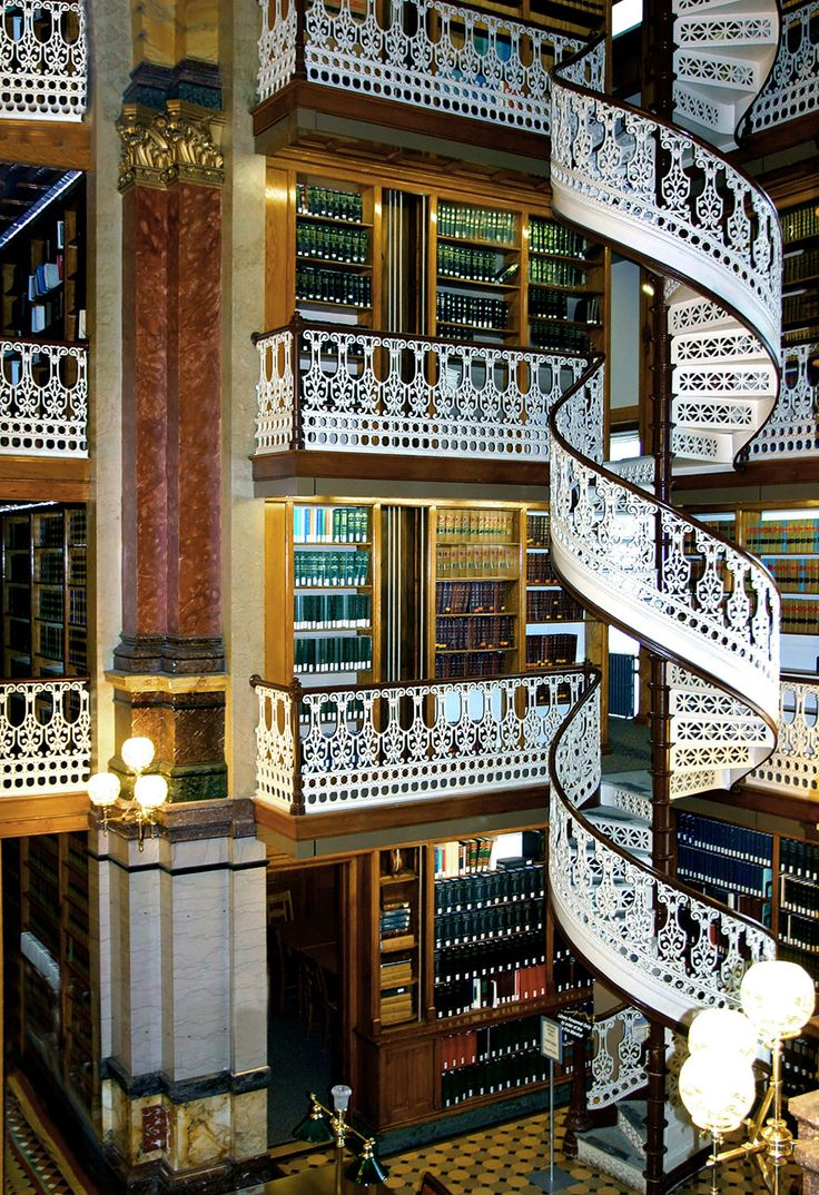 The Iowa State Law Library, Iowa, USA #coolest #libraries