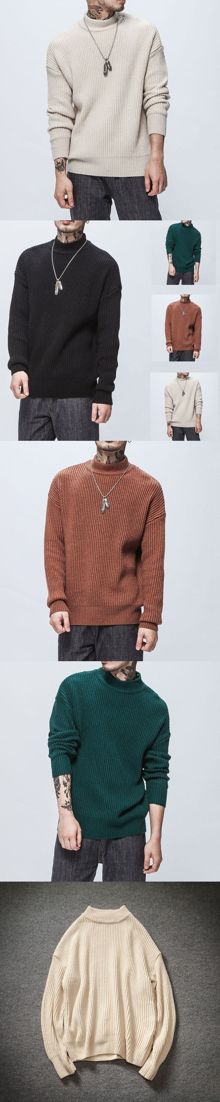 2017 Winter Cashmere Wool Sweater Brand Clothing Mens Sweaters Fashion Casual Shirt Pullover Men Pull O-Neck S-XXL