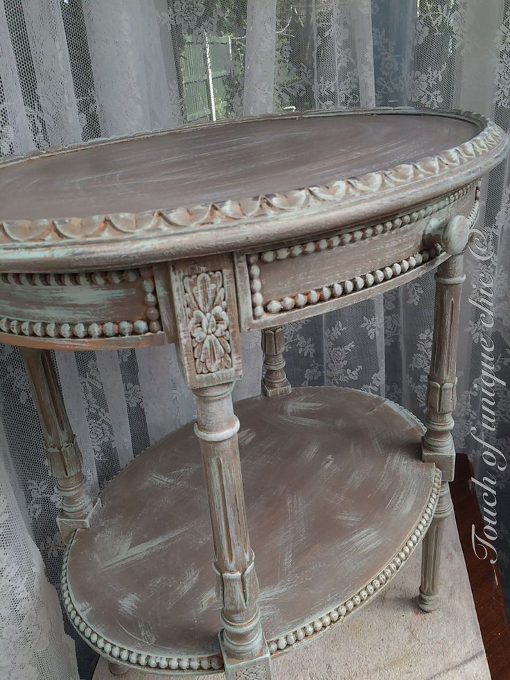 Painted in annie sloan French linen and provence. Uploaded by user