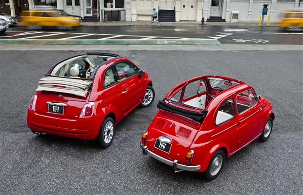 2012 Fiat 500 Cabriolet: A little brio with your sunshine via Derek McNaughton #Fiat_500 #Cars