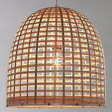 Buy John Lewis Hermia Bell Weave Ceiling Pendant Online at johnlewis.com
