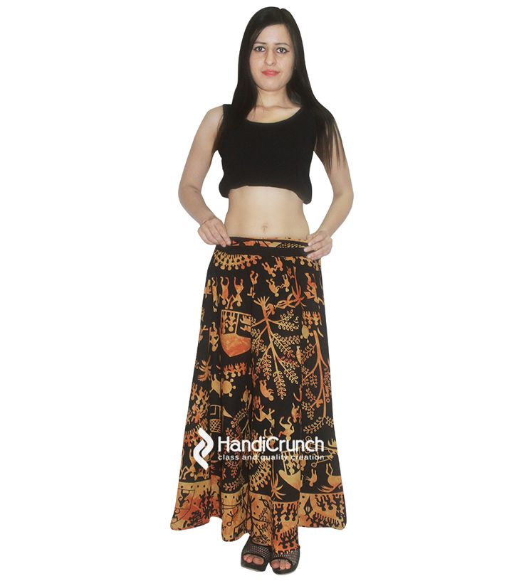 Girls women long skirt rapron