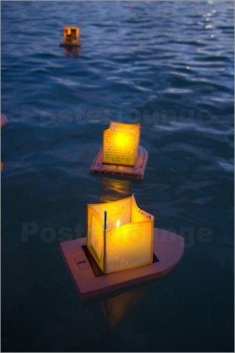 Douglas Peebles - Lantern Floating Festival