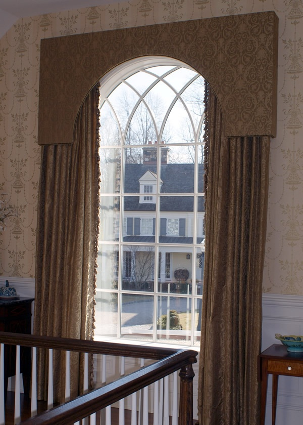 Window Treatment Idea For Arched Window Windows