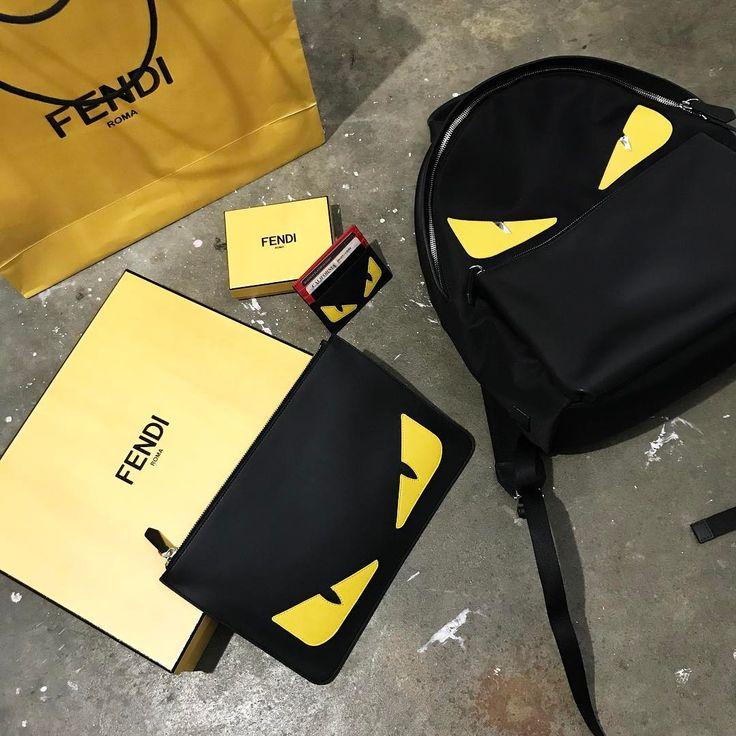 FENDI Monster Backpack    FENDI Monster Pouch    FENDI Monster Cardholder