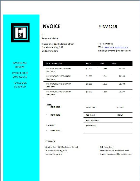Cellphone Repair Invoice Data Invoice Template Cell Phone Repair Phone Repair