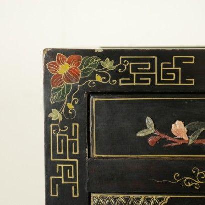 Credenza-libreria Chinoiserie - particolare