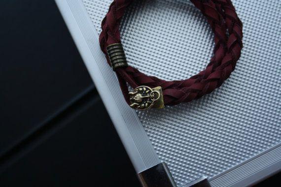 Bracelet Maahes от MintTigerAccessories на Etsy