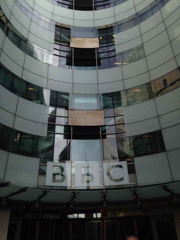 BBC Broadcasting house - the venue for our Radio Seminar on April 2nd 2014. #decentexposure