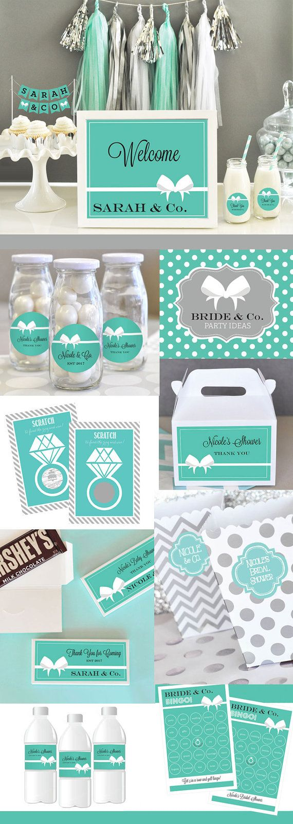 Tiffany Bridal Shower Game Bridal Shower Games By ModParty