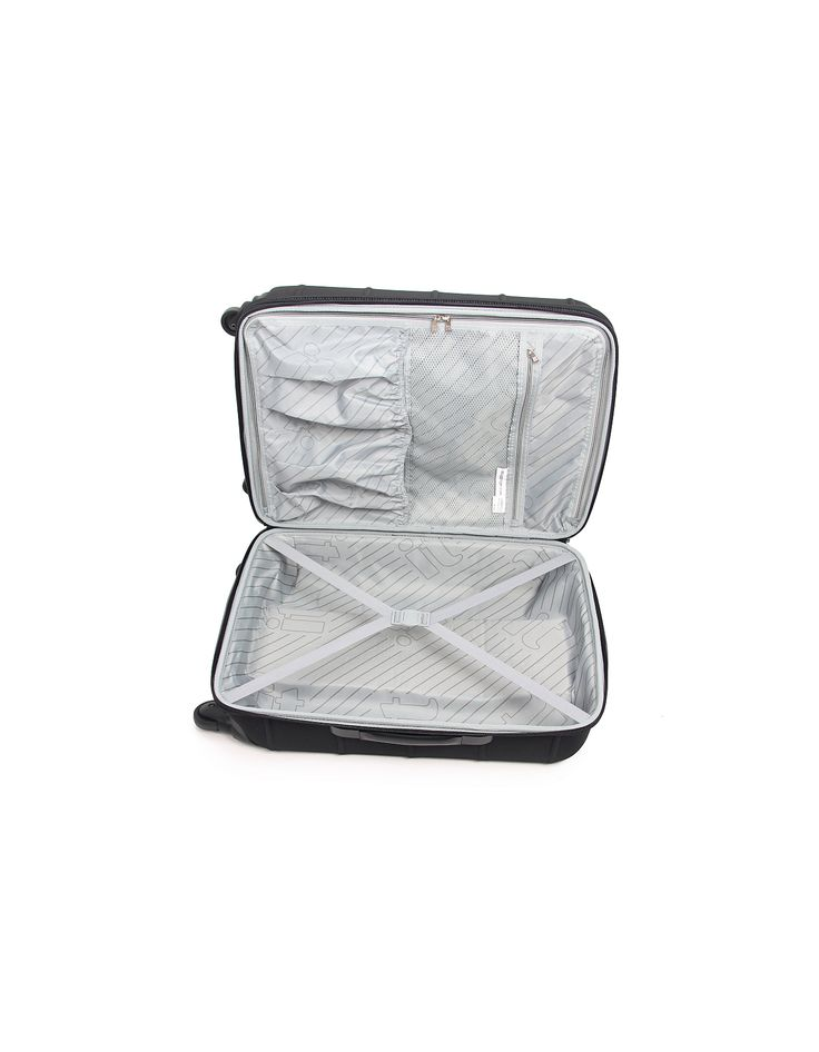 it Luggage 4-Wheel Frameless Expander Trolley Case - Medium, Black | Suitcases | ASDA direct