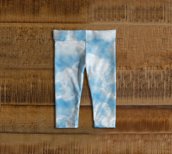 Cloud Baby Leggings - Available Here: http://artofwhere.com/shop/product/73057