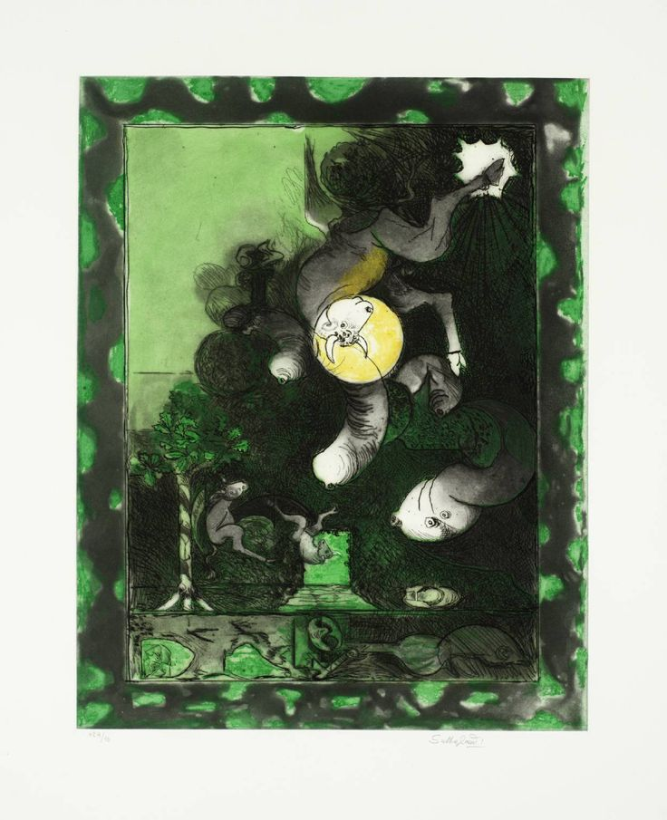 Graham Sutherland OM, '16. The Ox' 1978-9