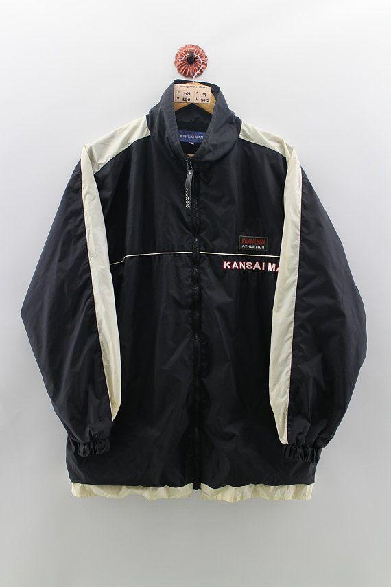 KANSAI MAN Windbreaker Jacket Mens Large Vintage 90's