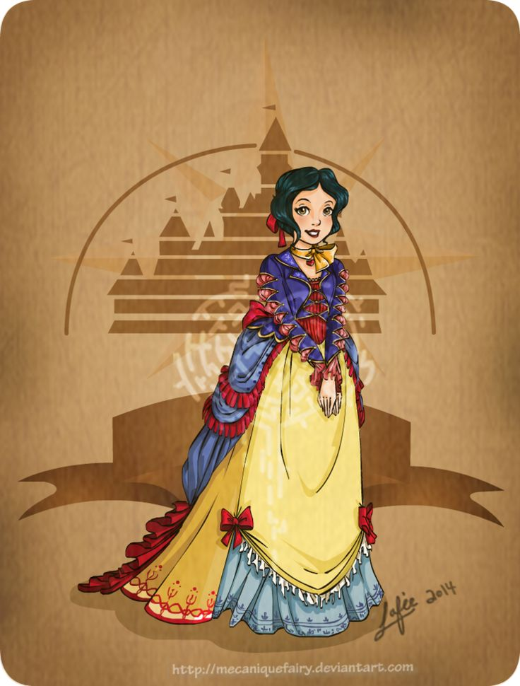 Awesome Series of Steampunk Disney Character Art — GeekTyrant