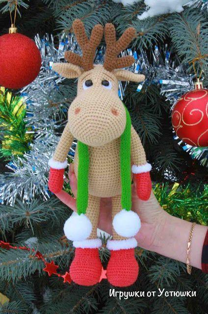 Amigurumi Reindeer Rudolf-Free Pattern