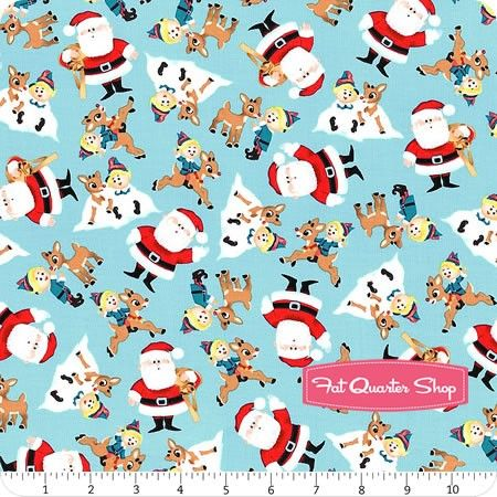Fun with Rudolph Blue Character Toss Yardage <br/>SKU# 25881-B