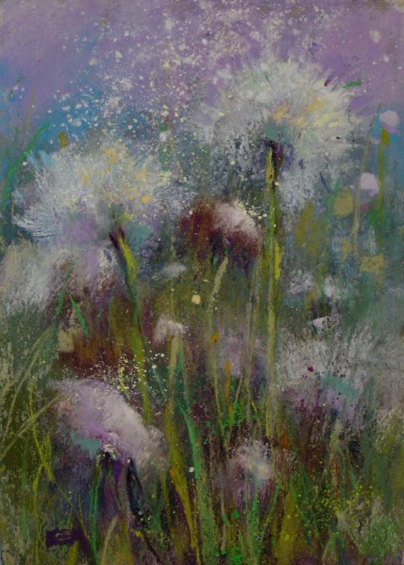 'Wishful Thinking'  5x7 pastel  ©Karen Margulis