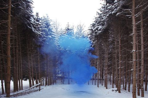 Silence / Shapes: Silence Shap, Photos, Filippominelli, Colors Smoke, Inspiration, Art Photography, Filippo Minelli, Blue Smoke, Smoke Bombs