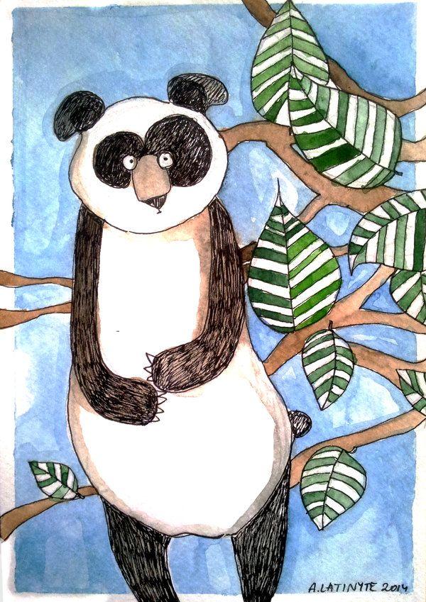 Hungry panda by Yuujin on deviantART