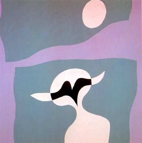 Man, mustache, navel - Jean Arp - Abstract, Dada